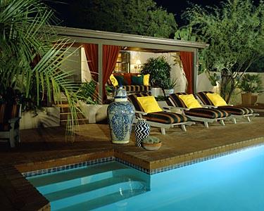 Pool landscape photographer portfolio brett drury for Pool design honolulu
